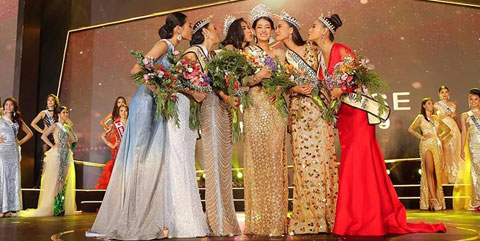 Congratulations to all the winners for 7th Miss Universe